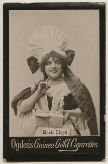 Marie Lloyd, published by Ogden's - NPG x193168