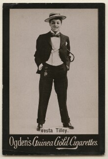 Vesta Tilley, published by Ogden's - NPG x193170