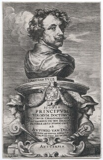 Sir Anthony van Dyck, by Jacobus Neeffs (Neefs), after  Sir Anthony van Dyck - NPG D43271
