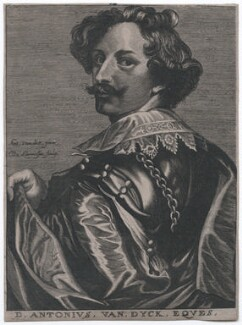 Sir Anthony van Dyck, by Nicolas de Larmessin, after  Sir Anthony van Dyck - NPG D43272