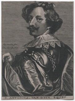 Sir Anthony van Dyck, by Nicolas de Larmessin, after  Sir Anthony van Dyck - NPG D43272