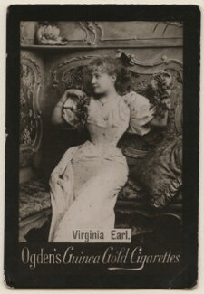 Virginia Earle (née Earl), published by Ogden's - NPG x193176