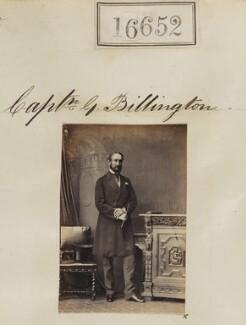 George Moyle Billington, by Camille Silvy - NPG Ax64553