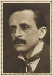 J.M. Barrie, by George Charles Beresford, published by  George G. Harrap & Company, printed by  The Vandyck Printers Ltd - NPG Ax199042
