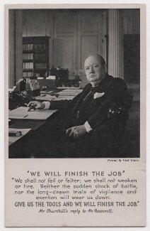 Winston Churchill, by Cecil Beaton - NPG x199060