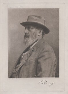 Edward Suess, by McQueen Brothers - NPG x193182