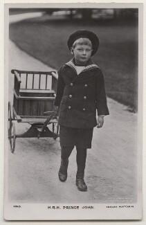Prince John, by Ernest Brooks, published by  J. Beagles & Co - NPG x193187