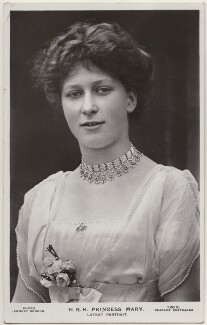 Princess Mary, Countess of Harewood, by Ernest Brooks, published by  J. Beagles & Co - NPG x193189