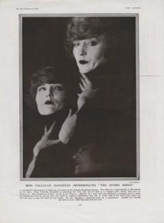 Tallulah Bankhead as Sarah Bernhardt, by Cecil Beaton - NPG x193434