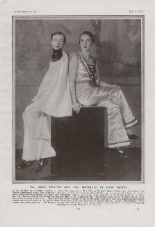 Cecil Beaton; Paula Gellibrand, Marquise de Casa Maury, by Cecil Beaton - NPG x193435