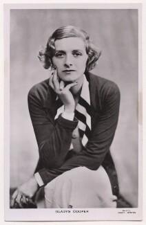 Dame Gladys Cooper, by Janet Jevons - NPG x198096