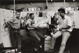 'Birth of Deadline' (Brett Ewins; Jamie Hewlett; Steve Dillon), by Steve Cook - NPG x199050