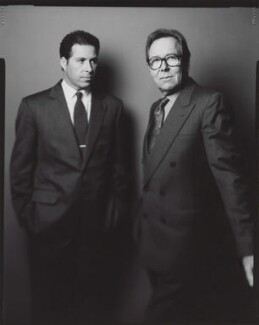 David Albert Charles Armstrong-Jones, Viscount Linley; Lord Snowdon, by Jillian Edelstein - NPG x199052