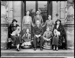 The Ryder family, by Bassano Ltd - NPG x37451