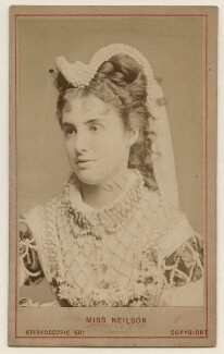 Adelaide Neilson as Amy Robsart in 'Kenilworth', by London Stereoscopic & Photographic Company - NPG x193204