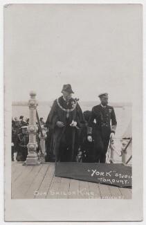 Charles Thomas Towell; King George V, by Dinham & Sons - NPG x199076