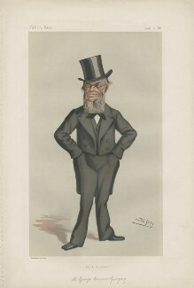 George Burrow Gregory ('Statesmen. No. 324.'), by Sir Leslie Ward - NPG D43954