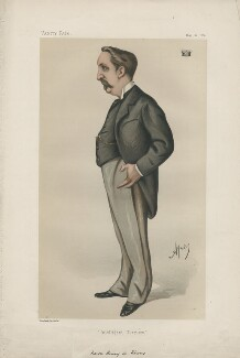 Henry De Worms, 1st Baron Pirbright ('Statesmen. No. 326.'), by Carlo Pellegrini - NPG D43959