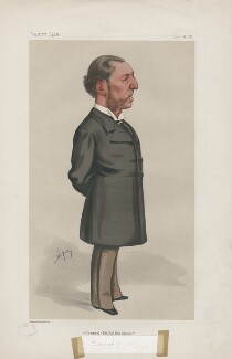 Frederick Greenwood ('Men of the Day. No. 228.'), by Carlo Pellegrini - NPG D43963