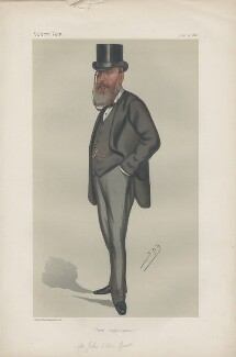 Sir John Eldon Gorst ('Statesmen. No. 333.'), by Sir Leslie Ward - NPG D43970