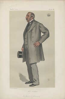 Ernest Augustus Charles Brudenell-Bruce, 3rd Marquess of Ailesbury ('Statemen. No. 339.'), by Théobald Chartran ('T') - NPG D43980