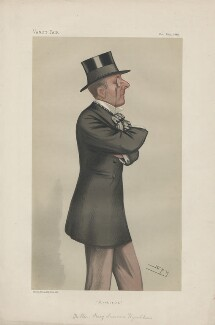 Percy Scawen Wyndham ('Statesmen. No. 345.'), by Sir Leslie Ward - NPG D43983