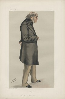 Sir Henry Bessemer ('Men of the Day. No. 231.'), by Sir Leslie Ward - NPG D43984