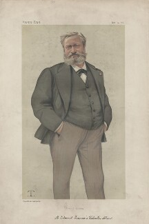Edmond François Valentin About ('Men of the Day. No. 232.'), by Théobald Chartran ('T') - NPG D43986
