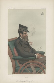 George Henry Conyngham, 3rd Marquess Conyngham ('Statesmen. No. 349.'), by Sir Leslie Ward - NPG D43993