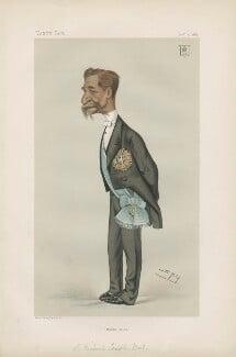 Sir Richard Temple, 1st Bt ('Statesmen. No. 350.'), by Sir Leslie Ward - NPG D43995