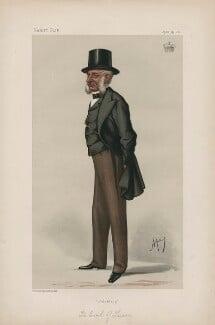 George Charles Bingham, 3rd Earl of Lucan ('Statesmen. No. 358.'), by Carlo Pellegrini - NPG D44009
