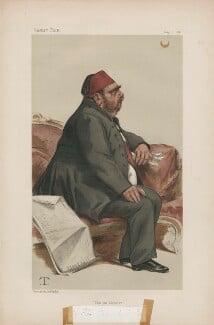 Isma'il Pasha ('Statesmen. No. 360.'), by Théobald Chartran ('T') - NPG D44011
