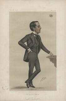 George Henry Cadogan, 5th Earl Cadogan ('Statesmen. No. 361'), by Sir Leslie Ward - NPG D44015