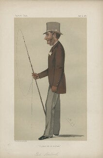 Gilbert Henry Heathcote-Drummond-Willoughby, 1st Earl of Ancaster ('Statesmen. No. 366.'), by Sir Leslie Ward - NPG D44024
