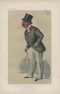 John Henry Reginald Scott, 4th Earl of Clonmell ('Statesmen. No. 367.'), by Carlo Pellegrini - NPG D44025