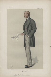 Henry George Percy, 7th Duke of Northumberland ('Statesmen. No. 370.'), by Théobald Chartran ('T') - NPG D44028