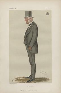 Thomas Augustus Wolstenholme Parker, 6th Earl of Macclesfield ('Statesmen. No. 377.'), by Sir Leslie Ward - NPG D44036