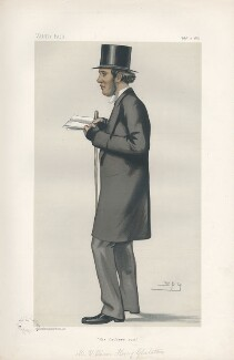 William Henry Gladstone ('Statesmen. No. 389.'), by Sir Leslie Ward - NPG D44054
