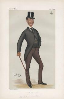 Douglas Graham, 5th Duke of Montrose ('Statesmen. No. 391.'), by Sir Leslie Ward - NPG D44058