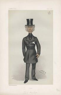 Edward Gordon Douglas-Pennant, 1st Baron Penrhyn ('Statesmen. No. 394.'), by Sir Leslie Ward - NPG D44059