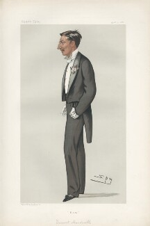 George Victor Drogo Montagu, 8th Duke of Manchester ('Men of the Day. No. 255.'), by Sir Leslie Ward - NPG D44063