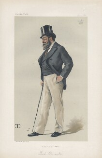 John Henniker-Major, 5th Baron Henniker ('Statesmen. No. 404.'), by Théobald Chartran ('T') - NPG D44073