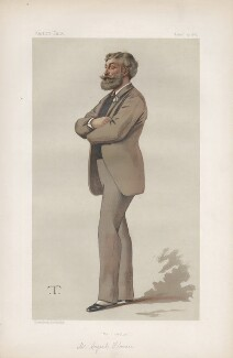 Cyril Flower, 1st Baron Battersea ('Statesmen. No. 408.'), by Théobald Chartran ('T') - NPG D44081