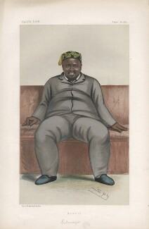 Cetshwayo ka Mpande ('Sovereign. No. 16. '), by Sir Leslie Ward - NPG D44082