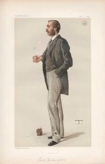 Thomas de Grey, 6th Baron Walsingham ('Statesmen. No. 409.'), by Théobald Chartran ('T') - NPG D44084