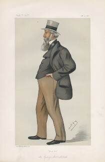 George Armitstead, 1st Baron Armitstead ('Statesmen. No. 414.'), by Sir Leslie Ward - NPG D44091