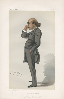Dion Boucicault ('Men of the Day. No. 268.'), by Sir Leslie Ward - NPG D44099