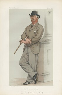 Sir Coutts Lindsay, 2nd Bt ('Men of the Day. No. 274.'), by Joseph Middleton Jopling - NPG D44106