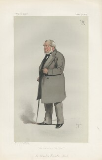 Sir Charles James Freake, 1st Bt ('Men of the Day. No. 279.'), by Théobald Chartran ('T') - NPG D44114