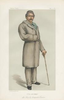 Sir Charles Bennett Lawes-Wittewronge, 2nd Bt ('Men of the Day. No. 284.'), by (Pierre) François Verheyden - NPG D44120